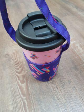 Plastic Cup and holder