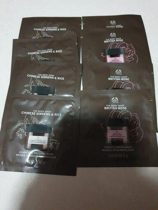 🚚 Body Shop Masks 5ml