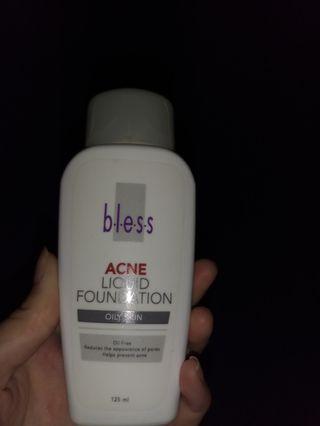 Acne liquid foundation