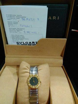 #SociollaCarousell BVLGARI model TUBOGAS combine gold & white gold (certificate)