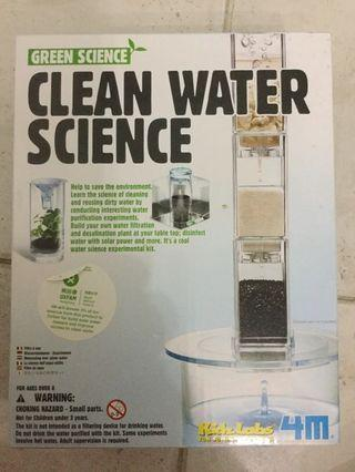 🚚 Clean water science