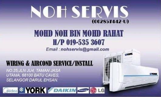 Service aircond