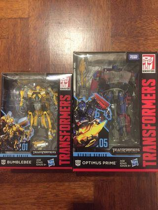 Transformers Optimus Prime SS05 + Bumblebee SS01
