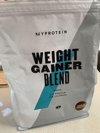 🚚 Myprotein weight gainer for cheap clearance