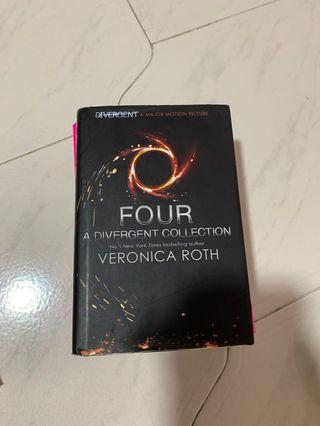Four Divergent collection Veronica Roth
