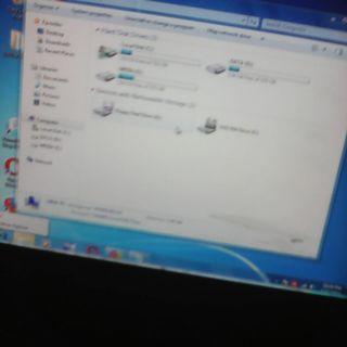 monitor lcd samsung LS16CMYSFUXD 16inch wide lumayan masih layak pakai