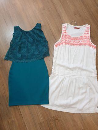Esprit and topshop dress