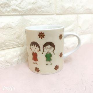櫻桃小丸子陶瓷杯