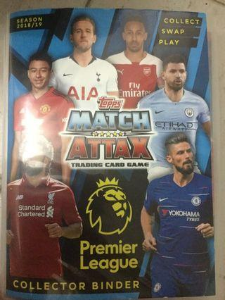 🚚 Match Attax Cards