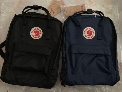 🚚 Fjallraven Kanken Classic Backpack Black 16L INSTOCKS!