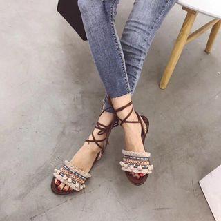 🚚 民族風羅馬鞋
