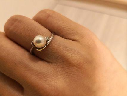 Pearl with diamond 💍 NEW