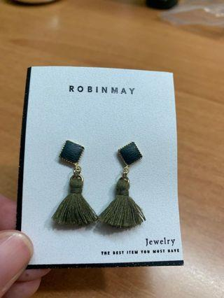 Robinmay耳環(購自西門町)
