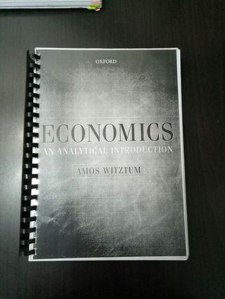 Economics ( Amos witztum)