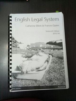 A-level law - English legal system