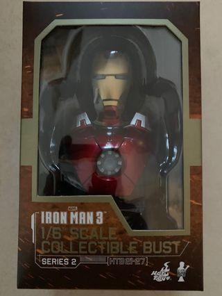 Hottoys Iron Man Mark 7 mk7 VII 頭像 半胸像 Bust 1:6