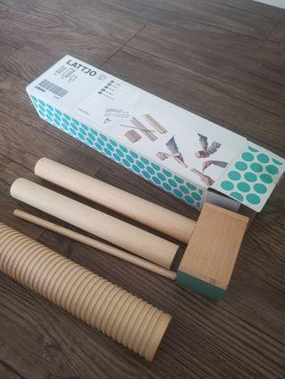 Ikea Lattjo Percussion Set of 3 Musical Toy