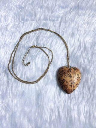 WOOD LOVE NACKLACE