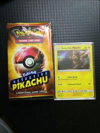 Detective Pikachu movie promo pack