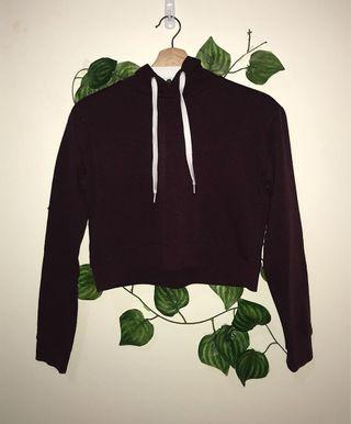 size xs | cropped jumper h&m