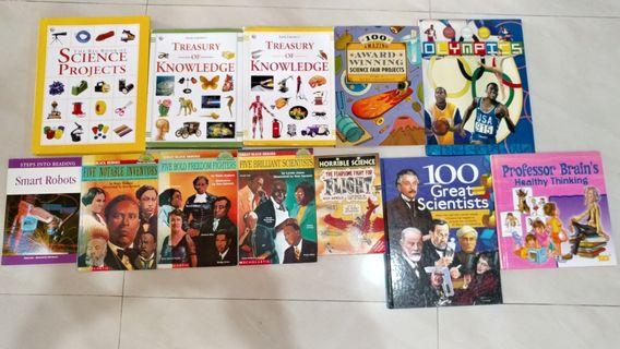 Children's books on Science and Knowledge