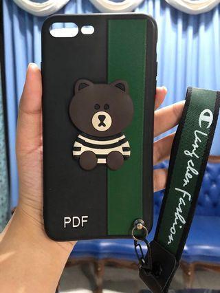SoftCase iPhone 7 Plus (Bear)