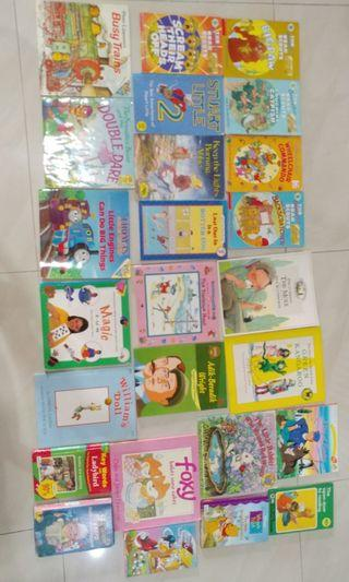 Children's books Berenstain Bears, Percy, Richard Scarry etc