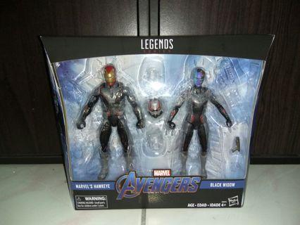 Marvel legends avengers endgame quantum suit ironman antman nebula
