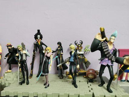 One Piece bootleg 1set (9 characters)
