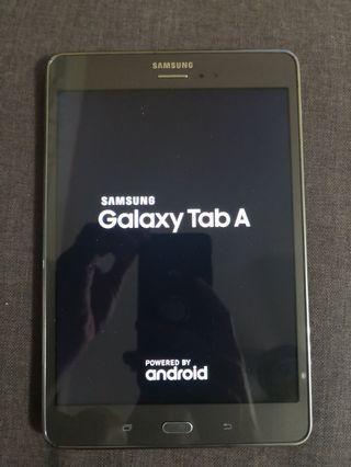 Samsung Galaxy Tab A 8.0 with S pen (sim)