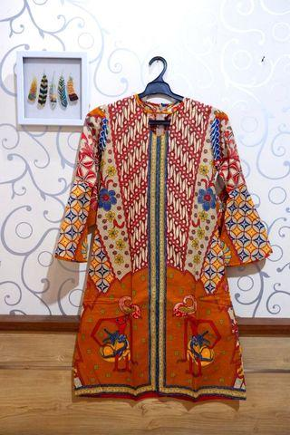 Dress Batik Brina Putra Bengawan