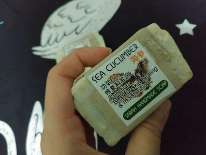 🚚 Handmade Sea Cucumber Soap - Sabah Borneo Island