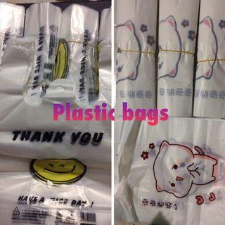 Plastic bags sale - for selling / customers / shops / seller cute cheap packaging product