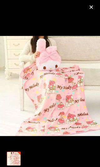 Melody Pillow + Blanket