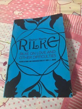 🚚 Rilke on Love and Other Difficulties