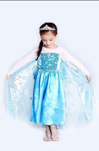 Frozen Elsa Dress party wedding Size 110,120 and 140