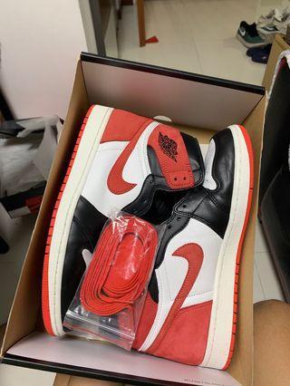 "Nike Air Jordan 1 Retro High OG ""Track Red"""