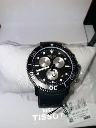 Tissot seaster 1000 chrongraph men's watch