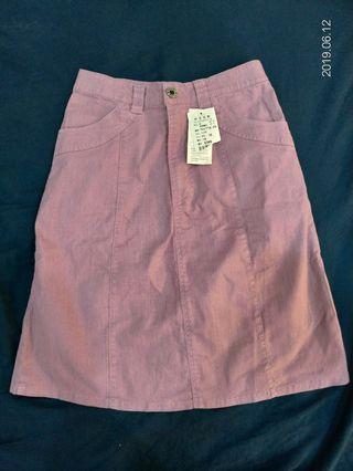 🚚 (買一送一)🍠紫蕃薯色的五分裙