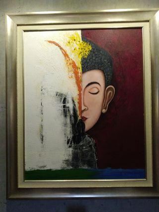 Painting Budha