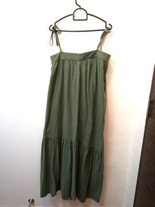 🚚 Cotton on green maxi dress