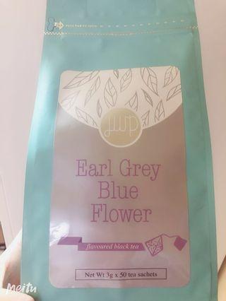 Blue flowers earl grey