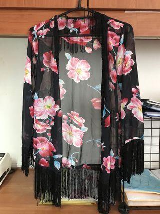 Floral Kimono Shawl