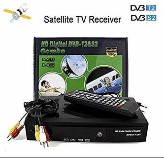 🚚 Digital HD Dvb T2&S2 Combo