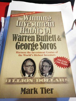 The Winning Investment Habits Of Warren Buffet And George Sorros