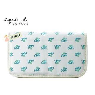 【Agnes b】VOYAGE手帳:藍白色 ($35)