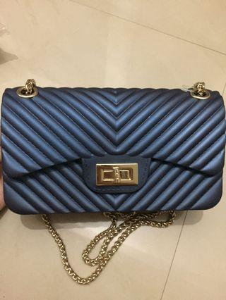Jelly Bag Biru Dongker/Navy