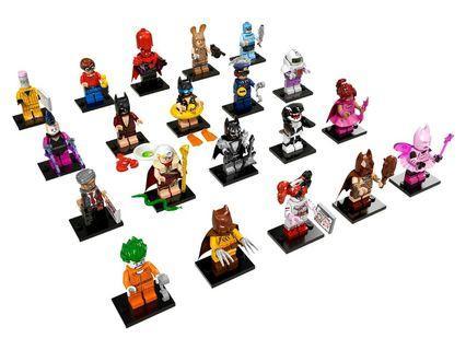 Lego Minifigures Batman Movie Series 1 (complete 20 pcs set)