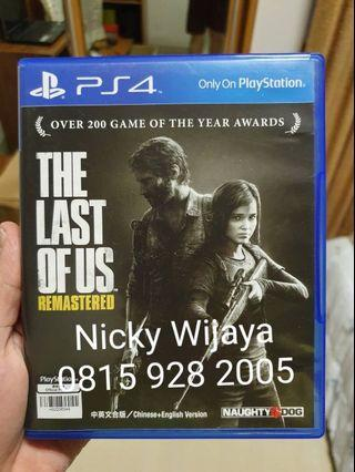 Last of Us - Second PS4