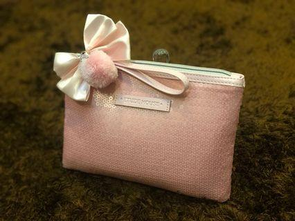 Makeup Pouch from Etude House (Pink)